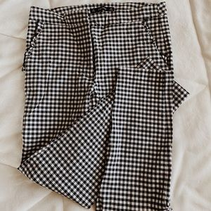 Plaid Zara pants